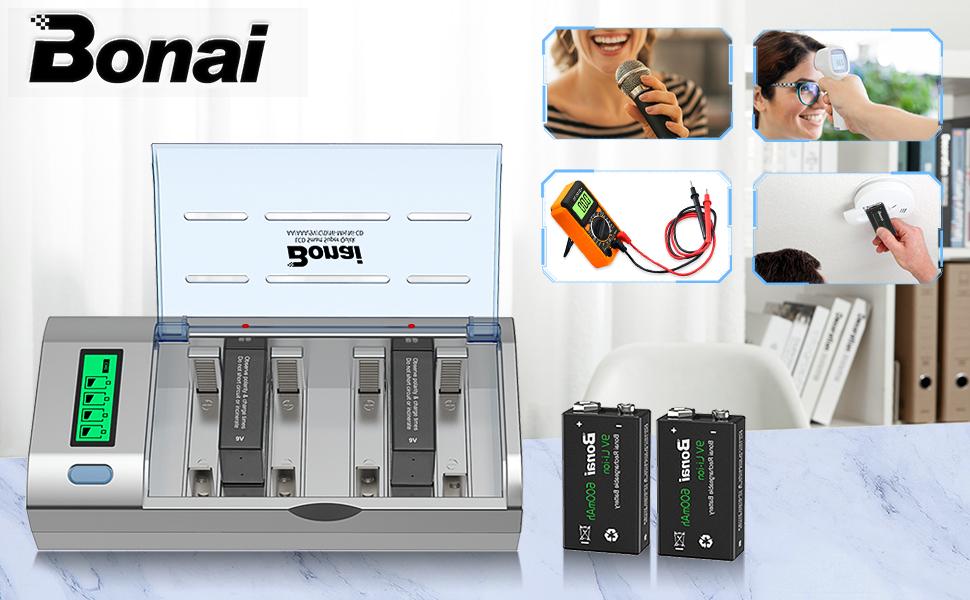 multi rechargable recharger battery rechargers