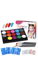 Face & Body Painting Kits