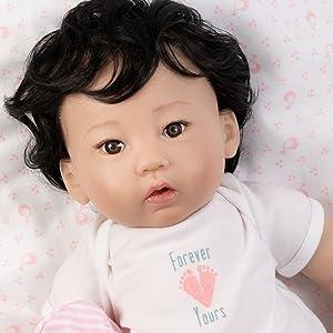 paradise galleries baby dolls reborn realistic dolls munecas para ninas