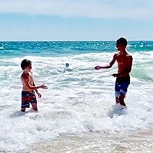Beach Sandy Water Bouncer Skip Ball Outer Banks NC