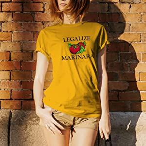 UGP Campus Apparel Underground Printing Tshirt Legalize Marinara
