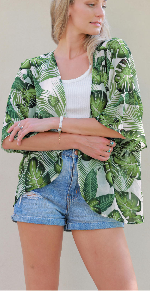 green kimono cardigans