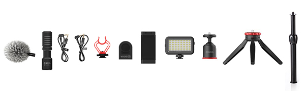 boya phone video recording kit