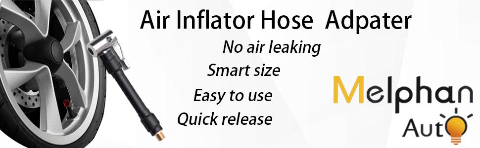 Melphan-Auto Air hose inflator adapter
