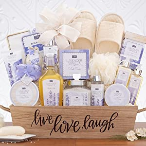 spa gift basket bath bombs special bath gel scented gift basket for wife gifts for her holiday