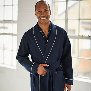 Ideal for relax relaxation cold winter nights cozy stay in dressing gown lounge mens robe bathrobe
