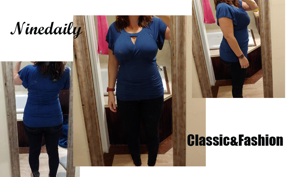 blouse workout activewear sport clothing business casual office work home basic comfy shirts