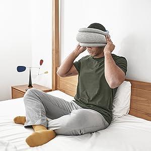 ostrichpillow meditation bed