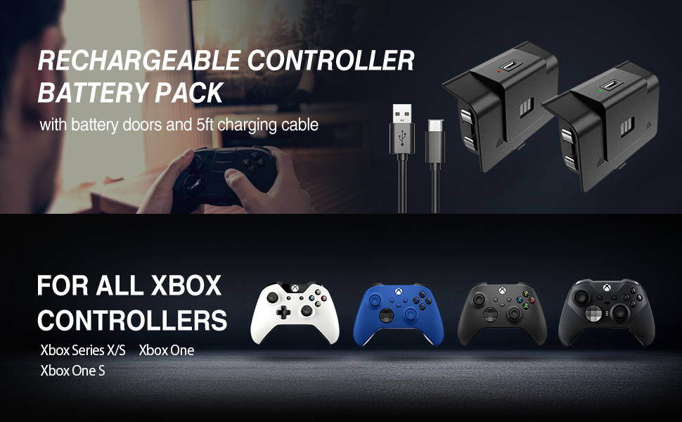 xbox one rechargeable battery pack