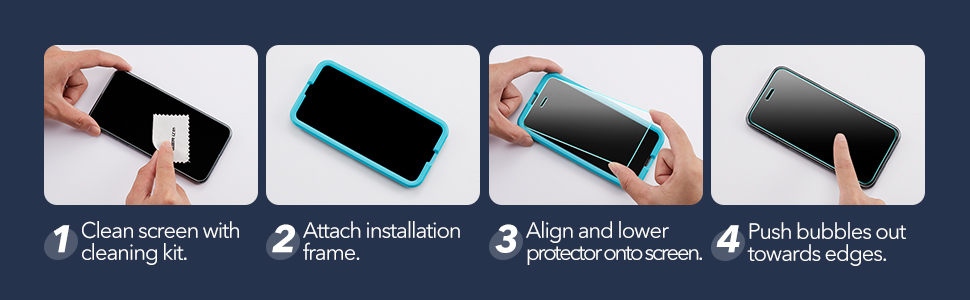 ESR Tempered-Glass Screen Protector for iPhone 12/12 Pro