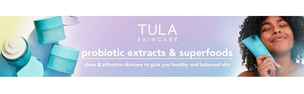 tula probiotic skincare superfoods healthy balanced glowing skin