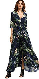 Vacation Bohemian Boho Dress