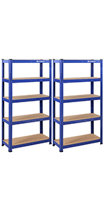 Opbergrek - 150 x 75 x 30 cm - blauw
