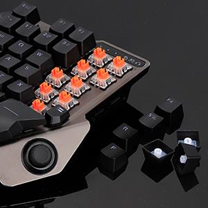 Small gaming keyboard
