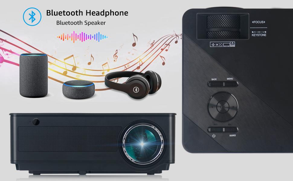 Fangor HD video projector Bluetooth