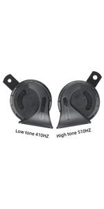 Waterproof 12V Loud Dual-Tone Electric Horn sanil horn