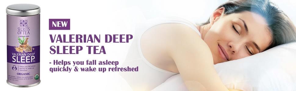 valerian deep sleep tea secrets of tea