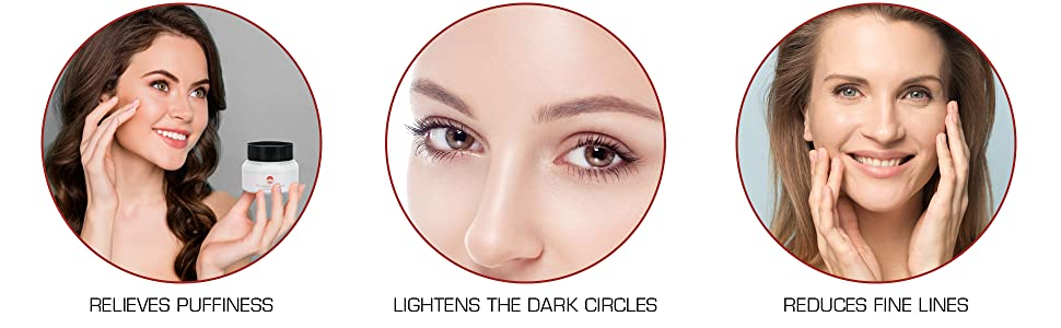 WHAT VITAMINS ROOTED UNDER EYE CRÈME DOES?
