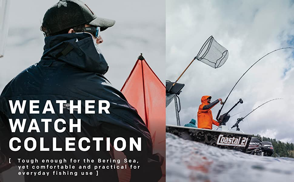Grundens Weather Watch Fishing collection- any conditions on waters across the globe