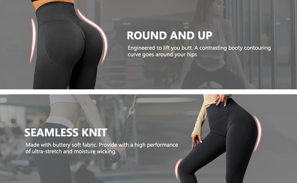 Hot girls in leggins strip for money Suuksess Women Scrunch Butt Lifting Seamless Leggings Booty High Waisted Workout Yoga Pants At Amazon Women S Clothing Store