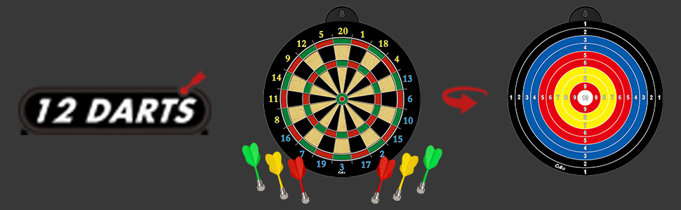 magnetic dart toy