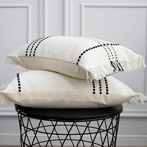 pillows set of 2 couch pillows decorative lumbar pillow cover 12x20