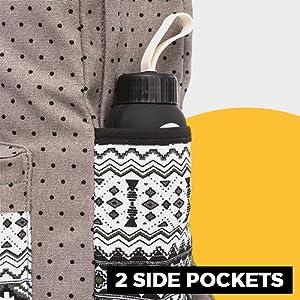 bottle holder casual backpack