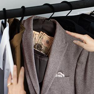 Hanger Safe in closet