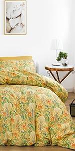 botanical comforter