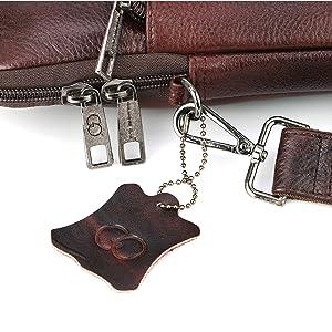 Metallic Fittings Laptop Bag Gilmore Oak Sleek Design for Office use bag