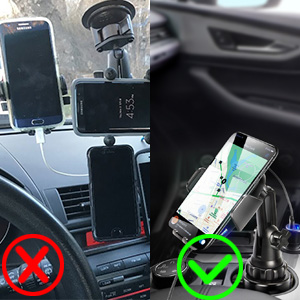 cup holder wireless charger