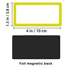 30 pcs large dry erase labels