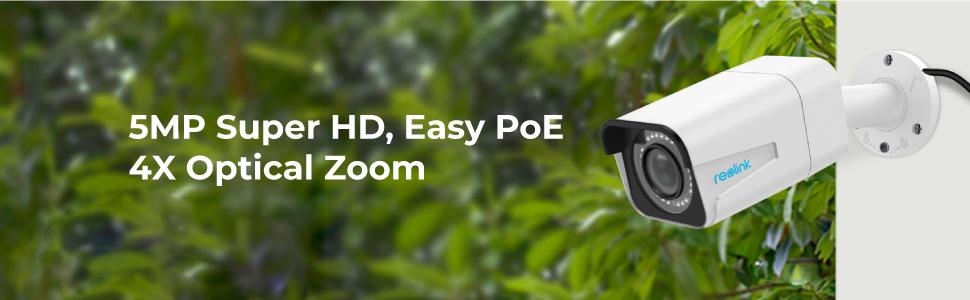RLC-511 PoE Security Camera Surveillance