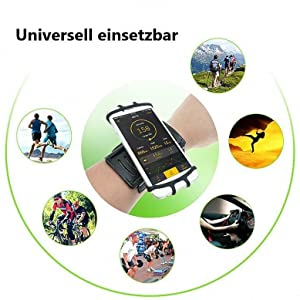 Coverkingz Universal Sportarmband 4 0 7 0 Zoll Elektronik