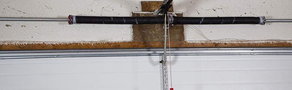 Amazon Com Dura Lift 218 X 2 X 28 Torsion Garage Springs White Left Right Wound Home Improvement
