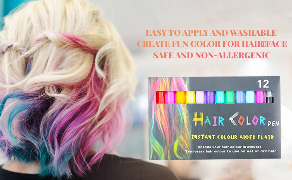 hair chalk for girl