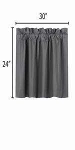 blackout curtains 24 inch