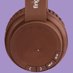FINGERS Rock-n-Roll Headset in brown color
