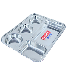 stain less steel thali