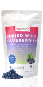 dried blueberries wild blueberry powder organic no sugar added unsweetened maine berries dehydrated