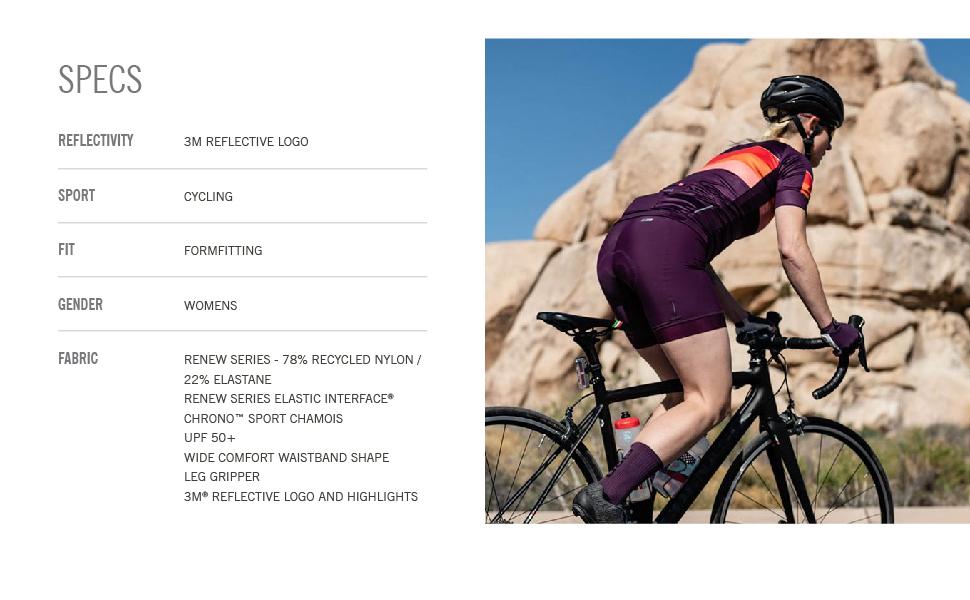 giro apparel Chrono Sport Short woman bike specs