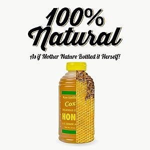 coxs raw honey unfiltered bulk