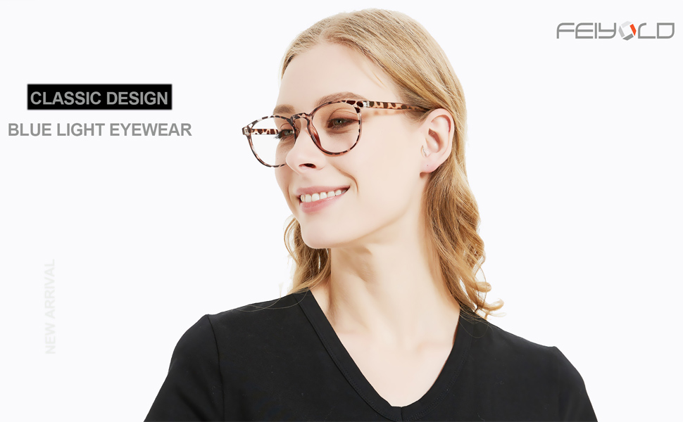 blue light glasses women