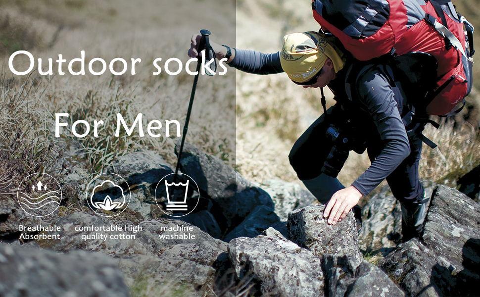 outdoor socks for men