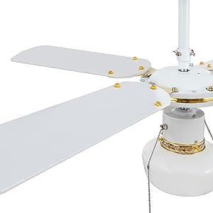 TECHBREY Ventilador de Techo Havoc Blanco 50W Blanco: Amazon.es ...