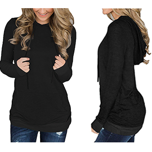 onlypuff Womens Hoodie Sweatshirts Casual Tunic Tops Long Sleeve Tie Dye Shirts with Pockets …