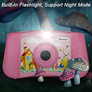 Buit-in flashlight