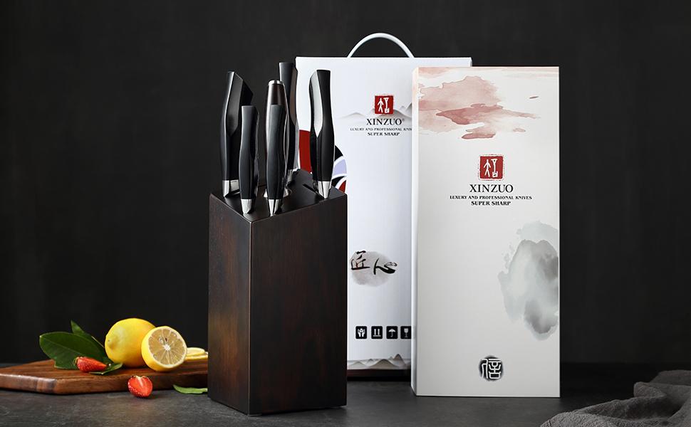 Le couteau de cuisine XINZUO est le meilleur choix pour un usage quotidien ou pour offrir à des amis