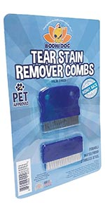 tear eye stain remover comb