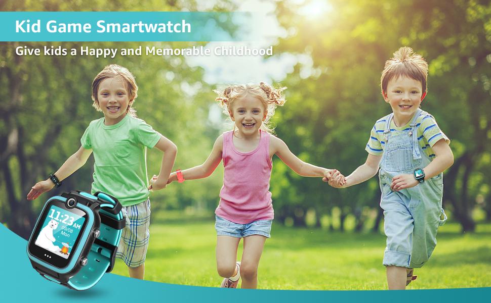 kid game smart watch